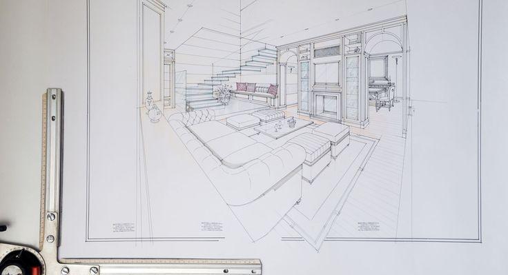 progettare un salotto elegante