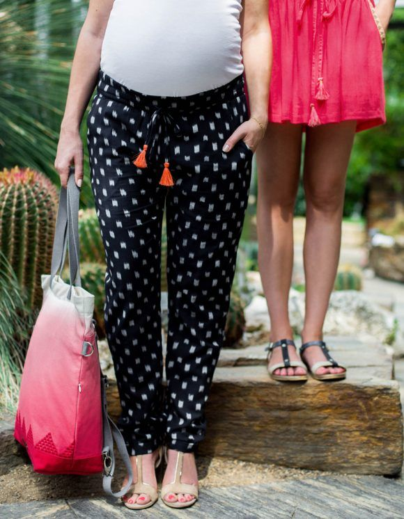 modern maternity wear, stylish maternity pants, Umdtandshose für moderne Mamas