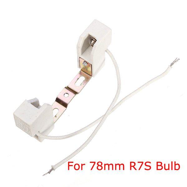 R7s Base Bulb Socket Lamp Holder 100mm For R7s Bulbs Lamp Holder Bulb Led Light Bulbs