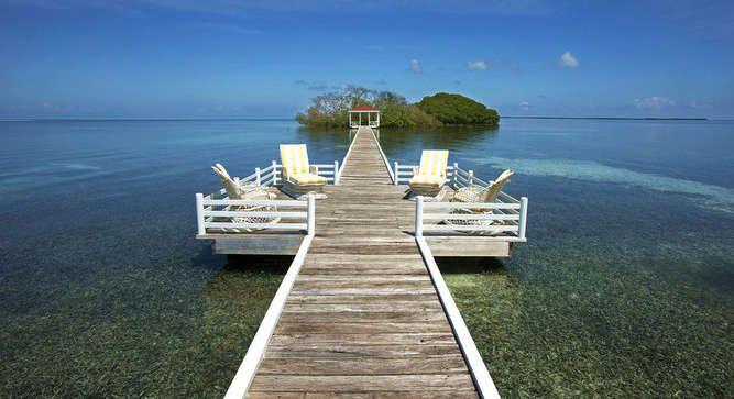 Villa de rêve au large du Belize Visit the website to see all photos http://picslovin.com/villa-de-reve-au-large-du-belize/