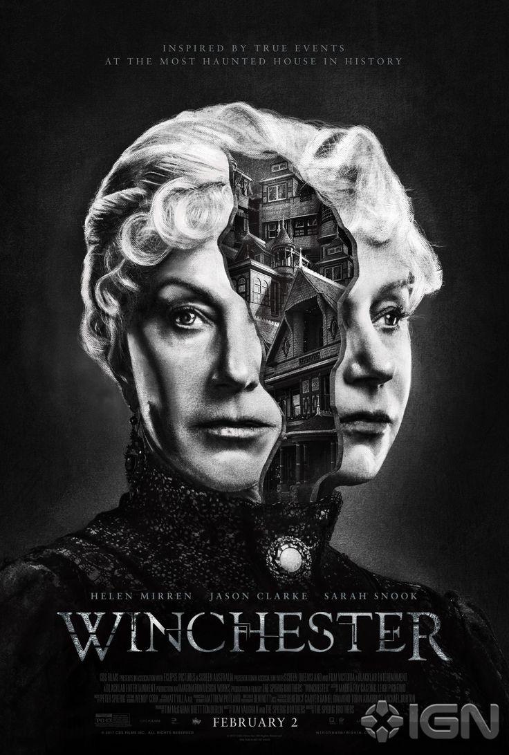 New Poster for Horror 'Winchester' - Starring Helen Mirren Jason Clarke and Sarah Snook