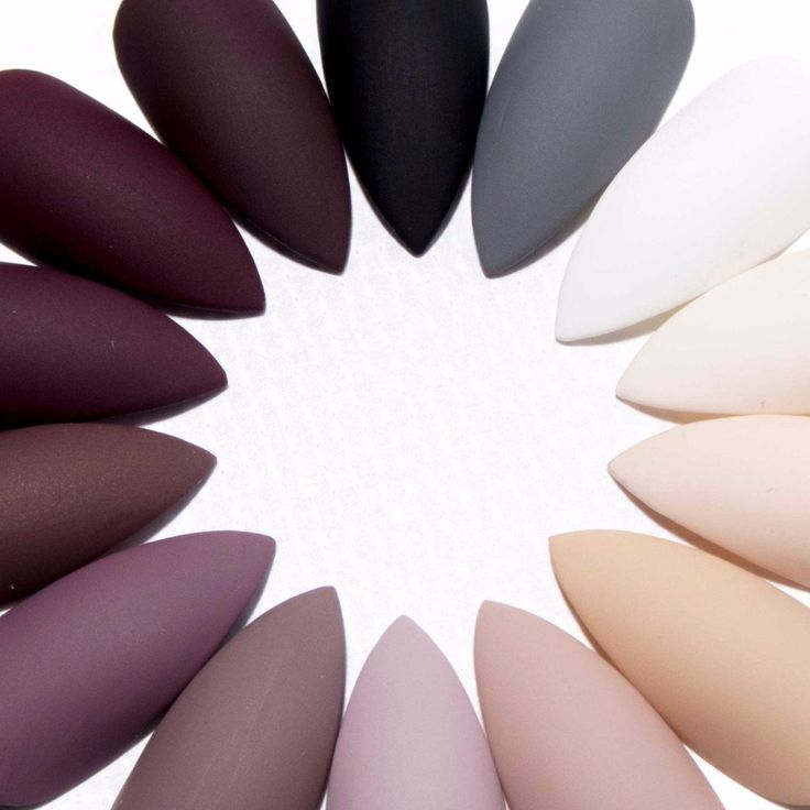 Matte Neutrals - All Shapes