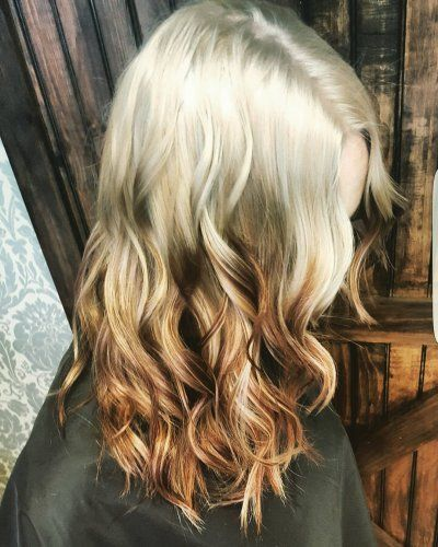 Reverse Ombre Hair Color 2018