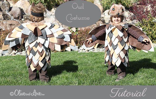 Simple Owl Costume Tutorial – Happy Owloween!