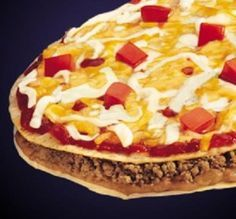 Copycat Taco Bell Mexican Pizza- made these today but used regular taco seasoning pack. They were better than Taco Bell, even Addie ate them.