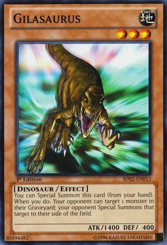 Yu-Gi-Oh! - Gilasaurus (BP02-EN013) - Battle Pack 2: War of the Giants - 1st Edition - Common => It's so cheap! Additional details at the pin image, click it  : FREE Toys and Games