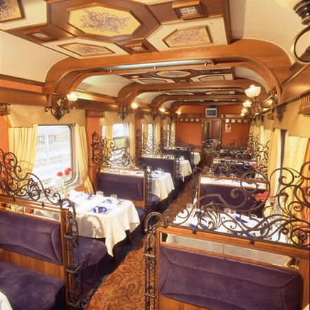 Pure opulence on board the Orient Express