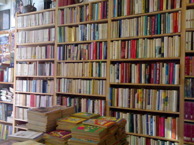 Il mercatino del libro, Bologna, Italy