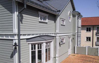 Henrik och Malins husprojekt - New England - från ett tomt papper till färdigt hus: Val av panel på fasaden och färg??