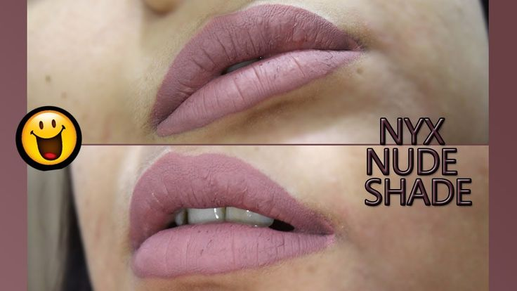 Nude Brown NYX Lip Cream Swatch