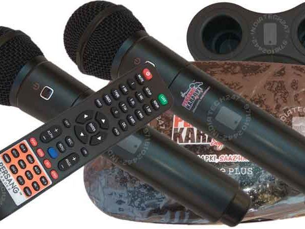 Karaoke Music System for Rent in Delhi NCR - Dual Wireless