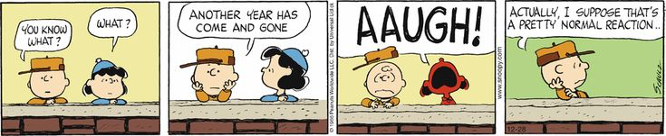 Peanuts - Another Year Has Come and Gone