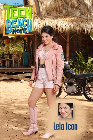Teen Beach Movie Lela | biker outfit: for my custom Lela doll!