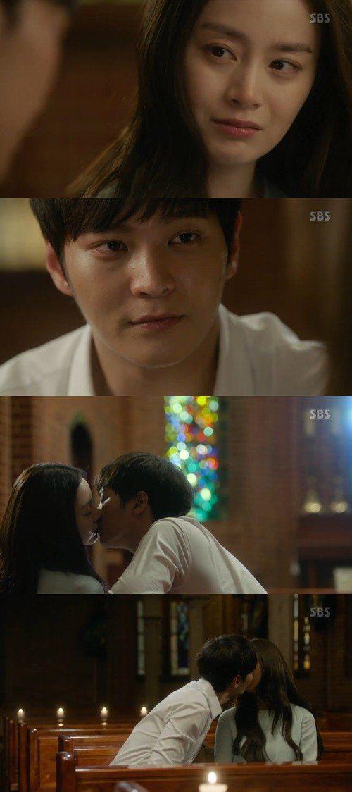 [Spoiler] 'Yong Pal' Joo Won and Kim Tae-hee kiss @ HanCinema :: The Korean Movie and Drama Database
