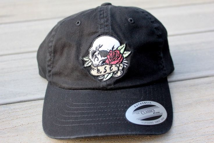 Kiss Chacey - Dead Rose Dad Cap