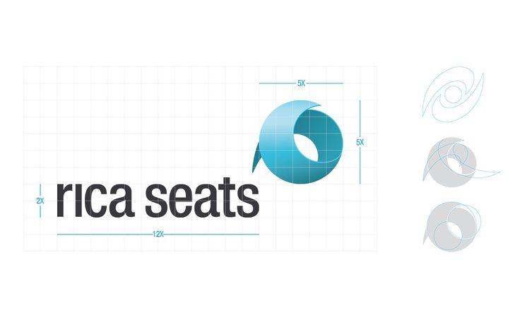 rica seats -visuaalisen identiteetin suunnittelu / Leimahdus