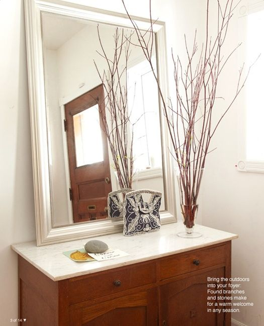 Simple Twigs Decor