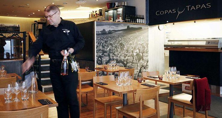 Copas y Tapasin valtteja ovat kotimaiset raaka-aineet, asiantunteva palvelu ja erinomaiset viinisuositukset.