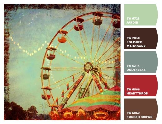 Fanciful State Fair 1950u0027s Color Hues Sherwin Williams Paint Part 78