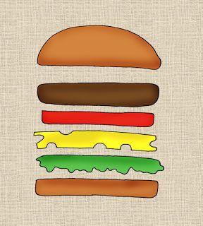 Frau Locke: Burger!