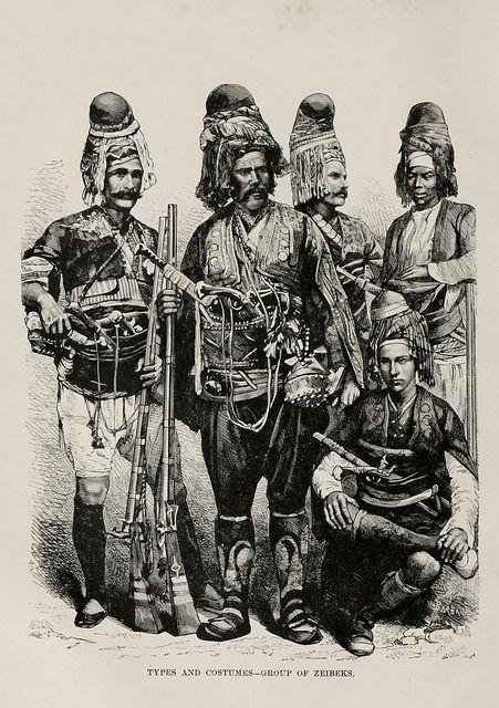Ottoman Zeibek / Zeybek / Ziebek (Osmanlı Zeybekleri)