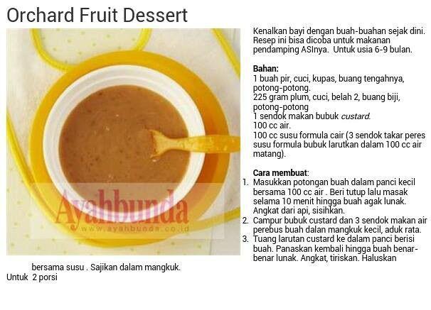 Orchad Fruit Dessert