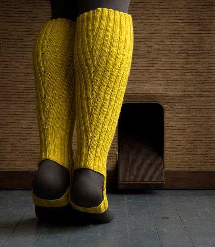 A Purl Soho Pattern: Loeffler Randall Rain Boot and Rain Bootie Stirrup Socks! | Purl Soho