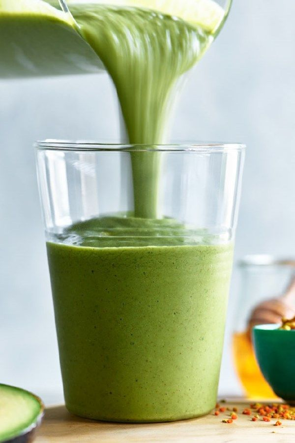 Really Green Smoothie Recipe In 2019 Healthy Breakfast Recipes