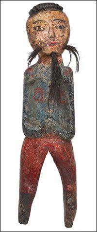 """Kokdu""is Korean traditional wooden figurines."