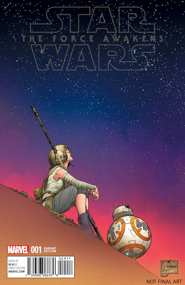 Here's Your First Look At The 'Star Wars: The Force Awakens' Comic