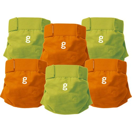 """I <3 my gDiapers. Cloth diapering isn't as hard as it seems. Saving the environment and going green is """"in""""."""