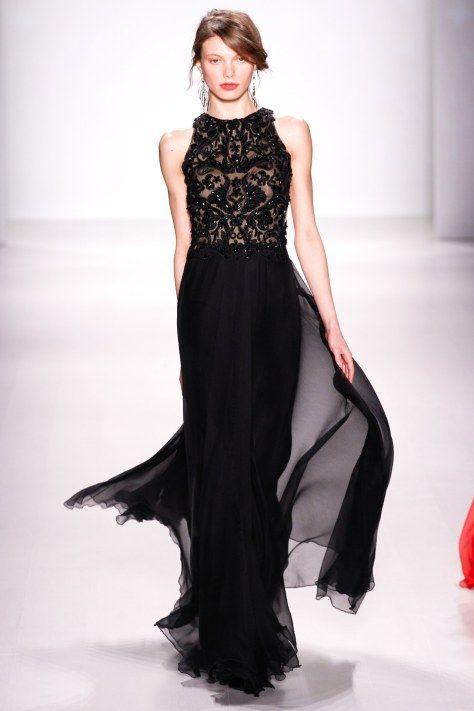 Tadashi Shoji AW2014 at NYFW - evening wear