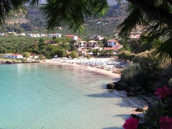 Παραλία Καλόγριας Μεσσηνία, Kalogria beach Messinia Greece