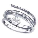 Love: Modern Engagement Rings, Snakes Engagement Rings, European Engagement, Diamonds Ny, Engagement Rings Unique, Unique Engagement, Silver Engagement Rings, Swirls Engagement Rings, Diamonds Engagement Rings
