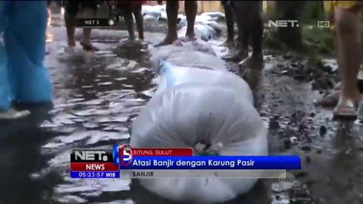Sungai Meluap Akibatkan Banjir Susulan, Warga Minahasa Utara Bertahan di...