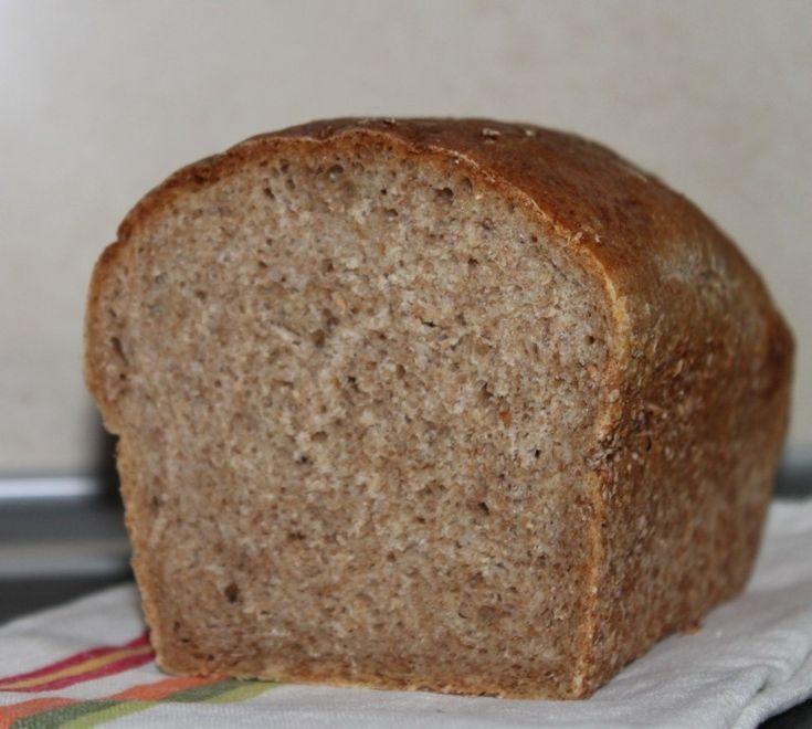 Moje Wypieki | Szybki i łatwy chleb półrazowy