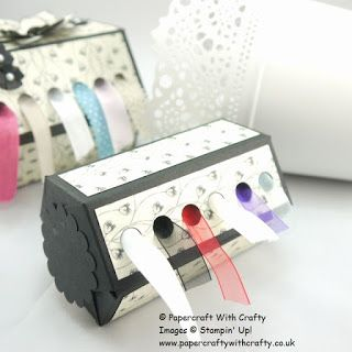 Papercraft With Crafty: Ribbon Dispenser