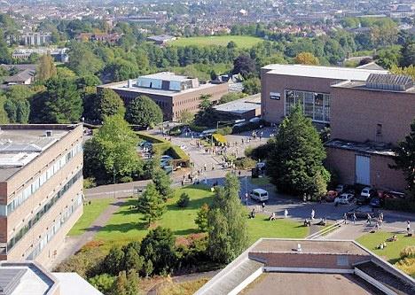 Exeter University, Exeter, Devon, England, UK