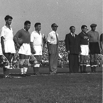 During which Olympic Games did the Soviet Union beat Yugoslavia in the football final on 8th of December? Melbourne, 1956.
