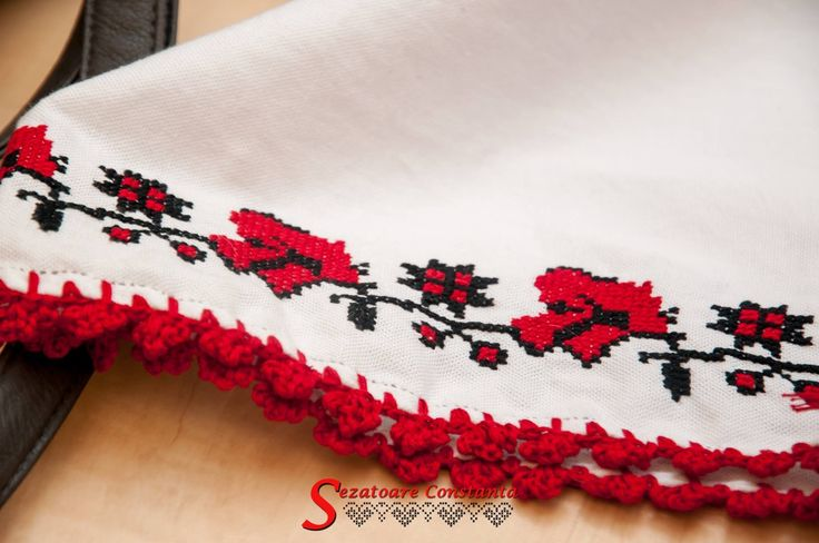 Sleeve of a blouse from Dobrogea.