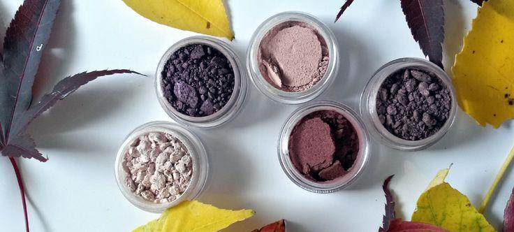 New fall eye shadow colors! 100% natural mineral cosmetics. #vegan #crueltyfree #naturalbeauty #zccosmetics