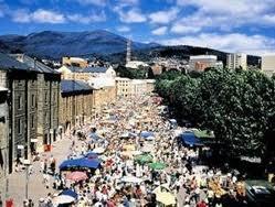 Salamanca Market - Hobart, Tasmania