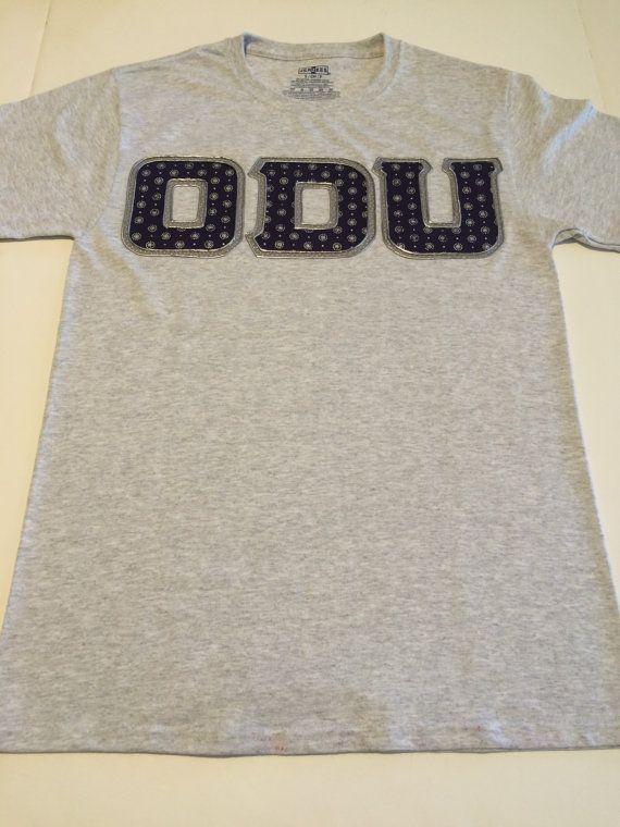 CUSTOM College Shirt Old Dominion University by CraftMeSomeofThat