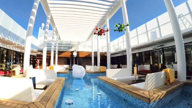 Ferngesteuerte Drohne mit live Kamera: Gehört ihr zu den Menschen, die Kreuzfahrten lieben oder hattet ihr bisher noch keine Gelegenheit, ein Kreuzfahrts...