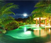 The Springs Resort and Spa | Luxury Hotel with spectacular view of Arenal Volcano, relaxing hot springs and pools, incredible Club Rio Outdoor Center, full service spa, at Costa Rica, La Fortuna. Where ABC filmed The Bachelor
