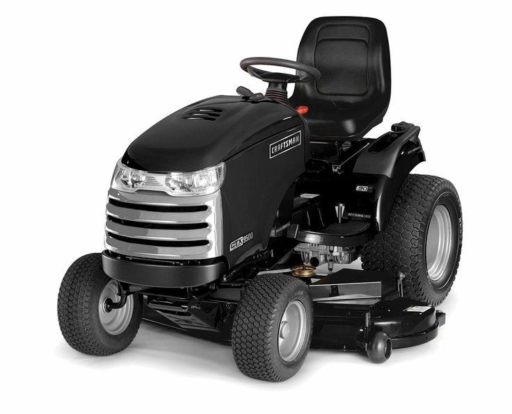 craftsman riding lawn mower battery