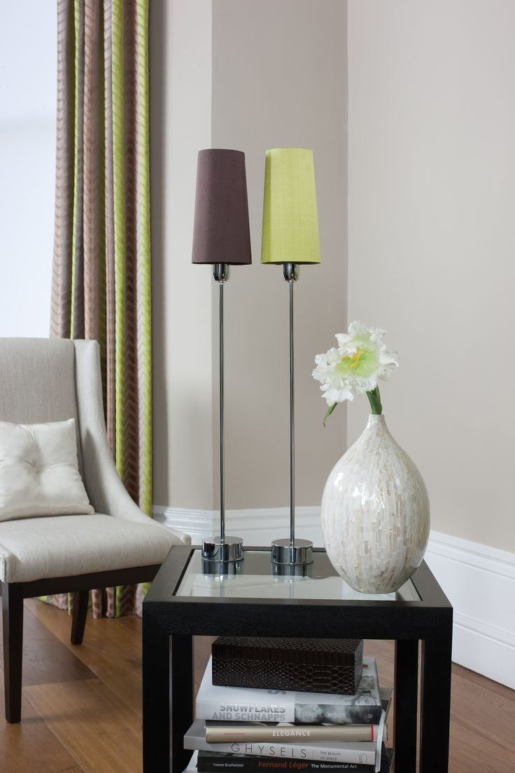 Piccolo table lamps elegant and simple table lamp perfect for mantelpieces and narrow areas that