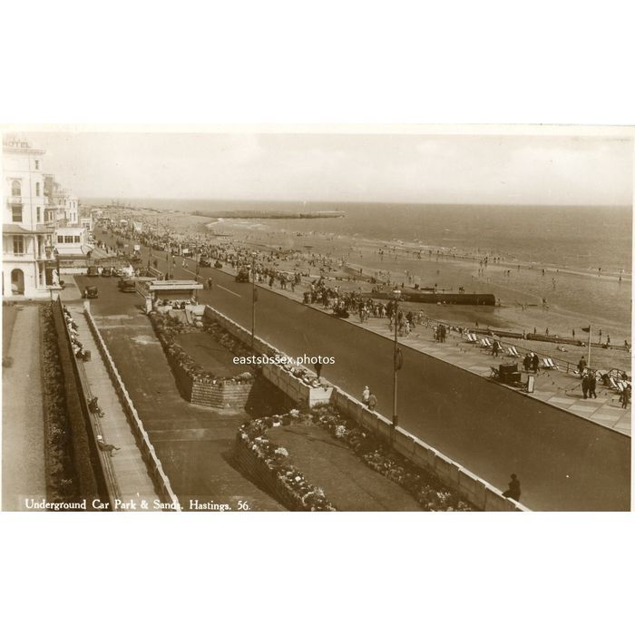 Postcard Hastings seafront post marked 1936 real photographic Listing in the Sussex,England,UK,Topographical,Postcards,Collectables Category on eBid United Kingdom | 156560959