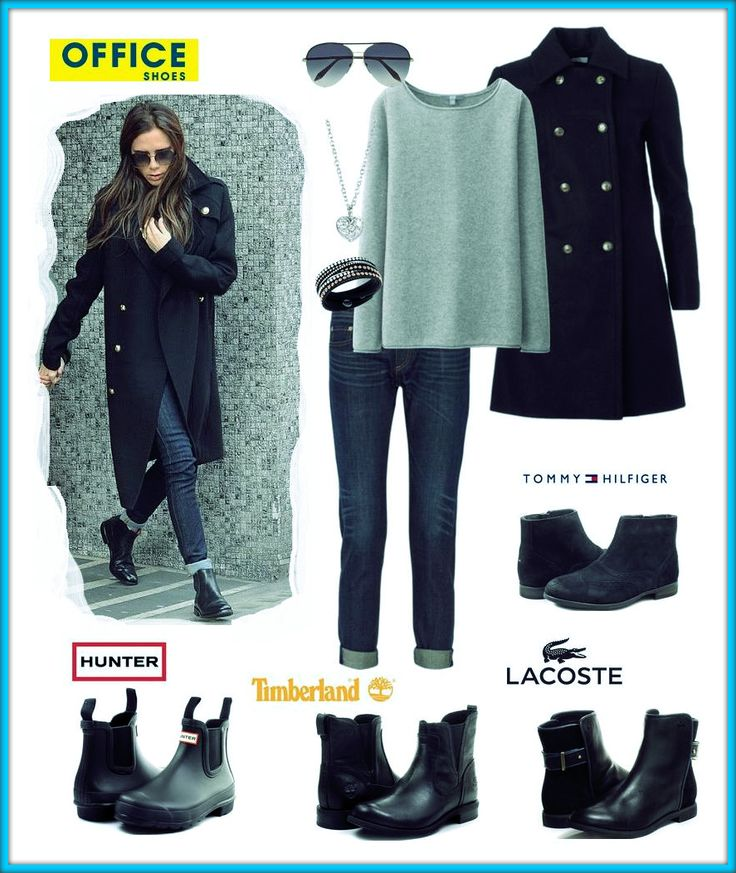 Inspiration from Victoria Beckham, look how perfect she looks wearing this outfit with chelsea boots!