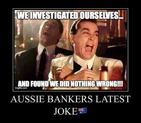 ROYAL COMMISSION WILL HAVE TO BE ESTABLISHED TO INVESTIGATE BANKS AND FINANCIERS